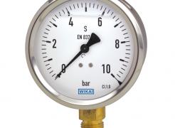 Calibração de manômetros, vacuômetros e manovacuômetros analógicos e a classe de exatidão