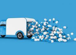O que é o perfil de rota de transporte de medicamentos?